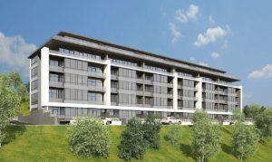 Продам квартиру в новострое в новом коттеджном комплексе «MORE» от (50,4кв.м)