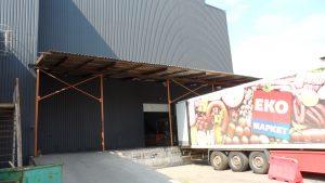 Аренда склада Киев Дарынок 2500 м2 категория В +офис на территории.